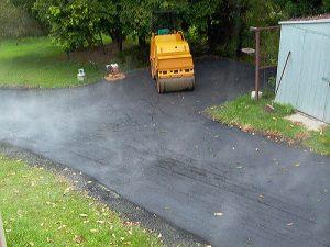 paved driveway in arlington va